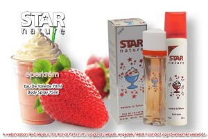 Star Nature Eperkrém illatú 70ml + 75ml