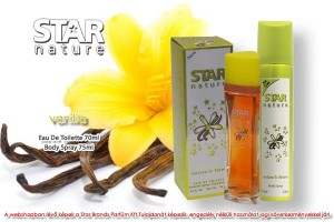 Star Nature Vanilia illatú 70ml + 75ml