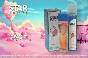 Star Nature Vattacukor illatú 70ml + 75ml