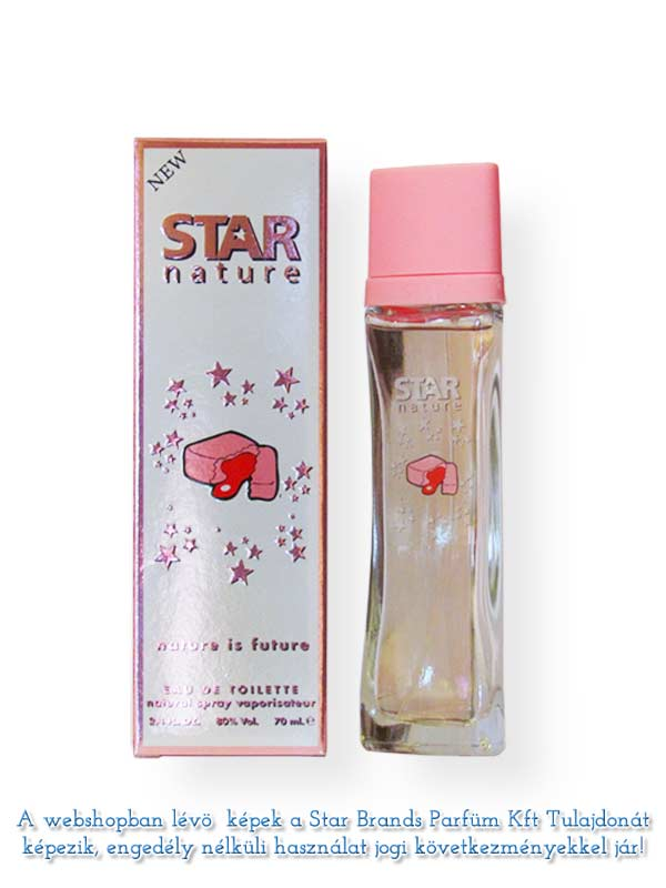 Star Nature Rágógumi illat EDT 70ml